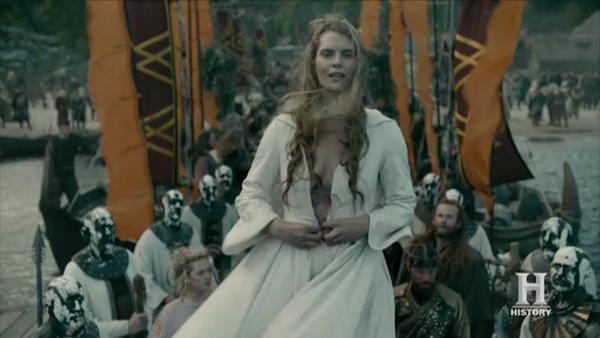 Ragnars ragga Vikings' Alicia