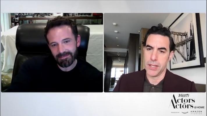 Ben Affleck Joins Sacha Baron Cohen For 'Actors On Actors'