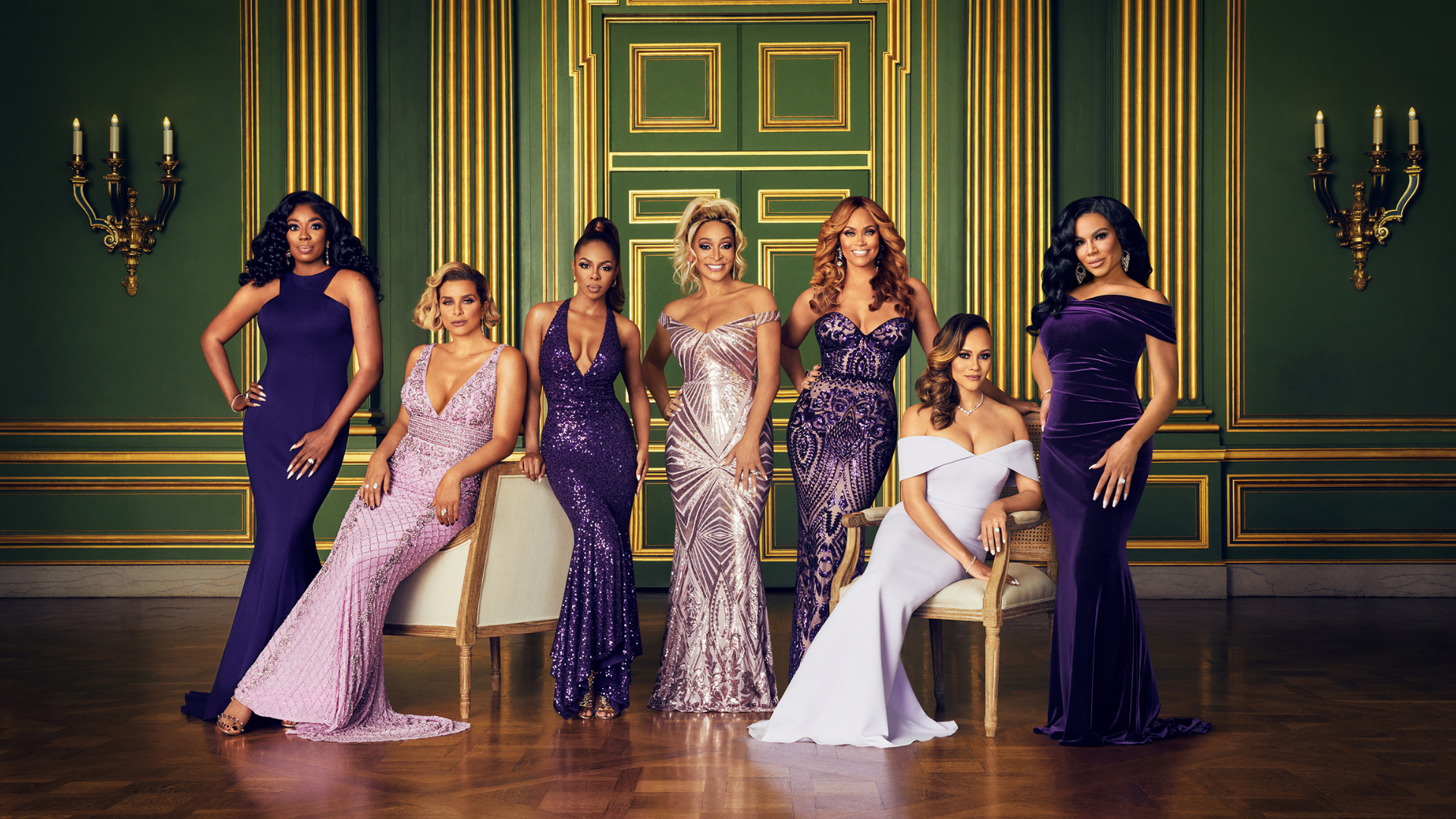The Real Housewives of Potomac - New Season July 11. Go to a video page.