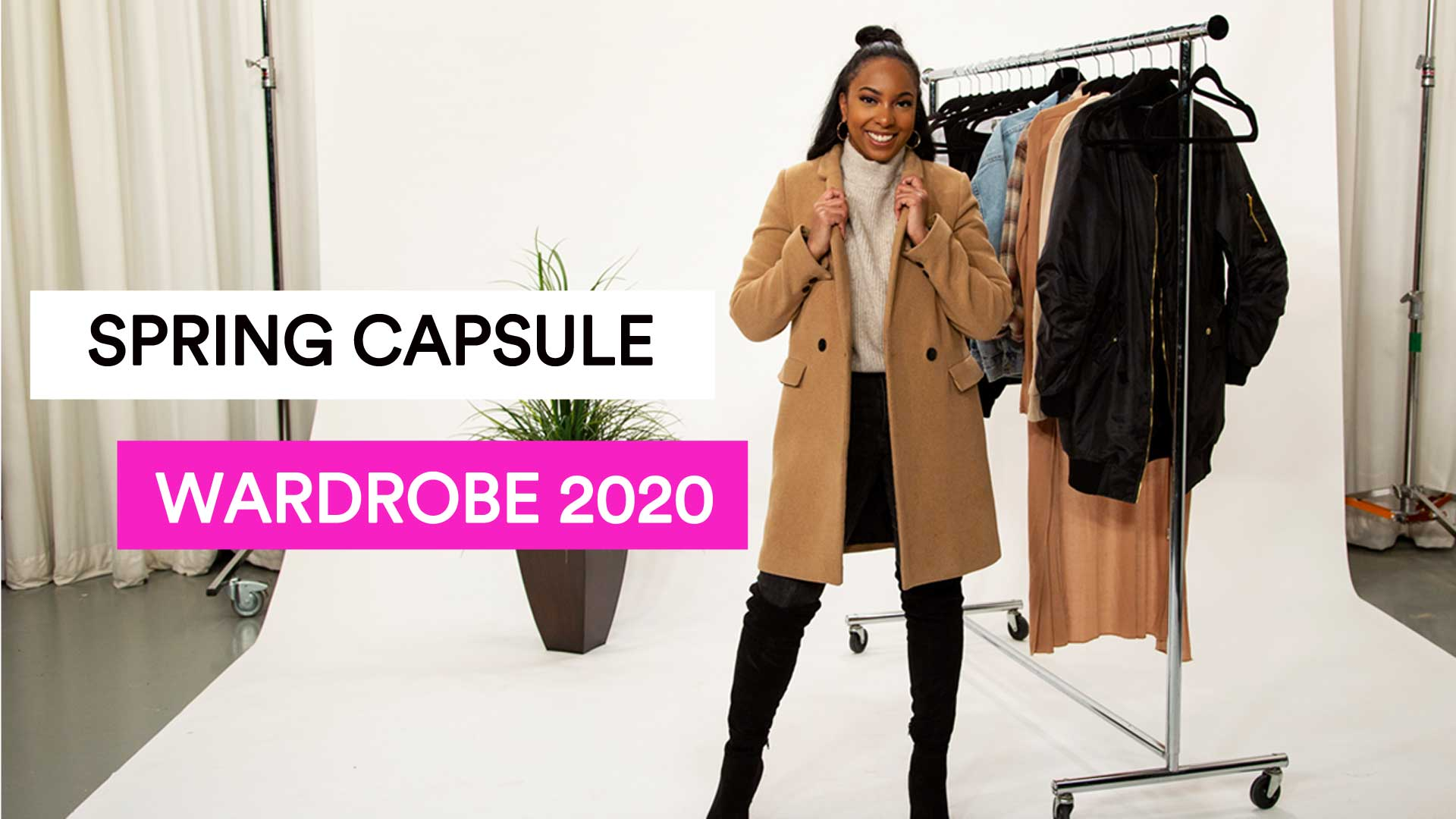Spring Capsule Wardrobe. Go to a video page.